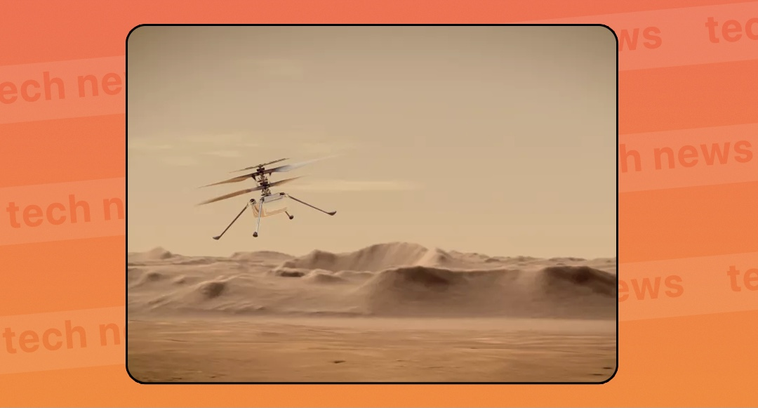 В начале апреля вертолет NASA совершит первый полет на Марсе