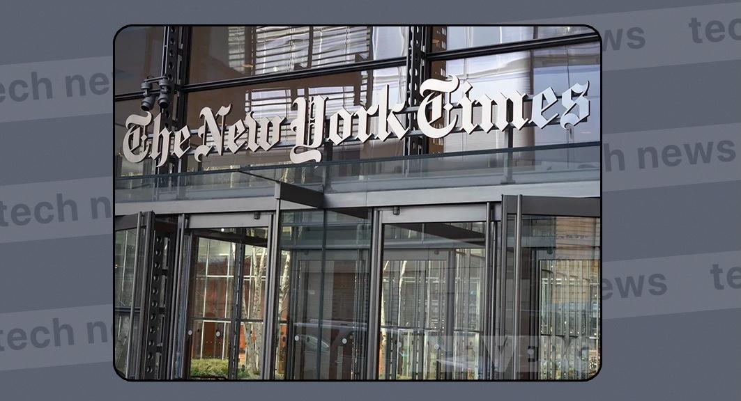 The New York Times продала статью, как NFT за $560 тысяч.