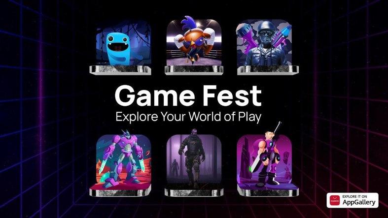 HUAWEI запускает игровую кампанию AppGallery Game Fest